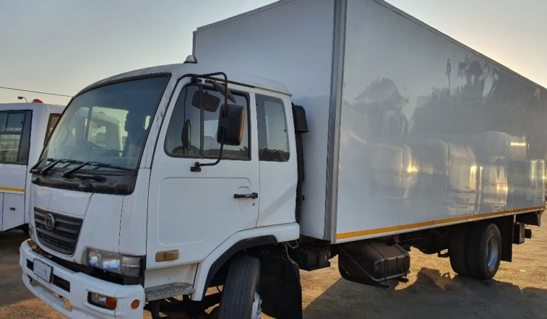 Nissan UD90 with Volume Van Body and Tail Lift full